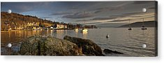 Acrylic Print featuring the photograph Lake Windermere Ambleside, Cumbria by John Short