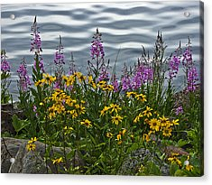 Lakeside Beauties Acrylic Print