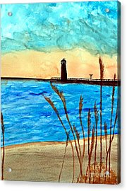 Lakeside Luxury Acrylic Print