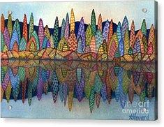 Lakeside Reflection Acrylic Print
