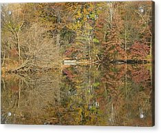 Lakeside Reflections Acrylic Print