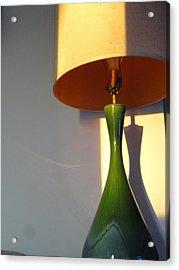 Lamp And Shadows Acrylic Print by Guy Ricketts
