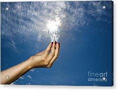 Lamp Bulb Acrylic Print