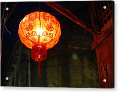 Lamp Acrylic Print by Kriangkrai Riangngern