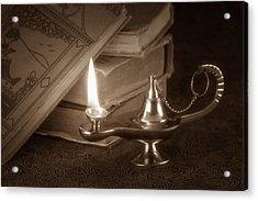 Lamp Of Learning Acrylic Print