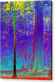Lamp Post Acrylic Print