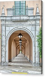 Lamps And Arches Acrylic Print