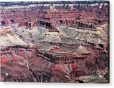 Landing In The Canyon Acrylic Print by John Rizzuto
