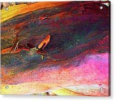 Acrylic Print featuring the digital art Landing by Richard Laeton