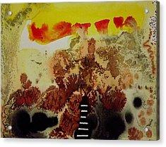 Landmark Acrylic Print by Jorgen Rosengaard