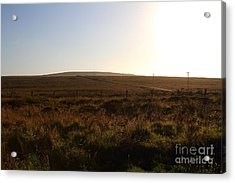 Landscape At Point Reyes California . 7d9958 Acrylic Print by Wingsdomain Art and Photography