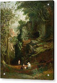 Landscape Near Clifton Acrylic Print by Francis Danby