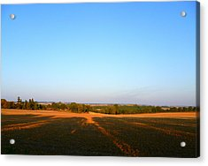 Landscape Near Mauvezin Acrylic Print by Sandrine Pelissier