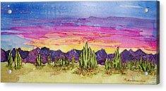 Landscape Acrylic Print by Regina Ammerman