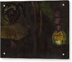 Lantern Twist Acrylic Print by Alexandra Sheldon