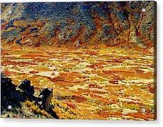 Lasal Mt. Kaleidoscope Acrylic Print