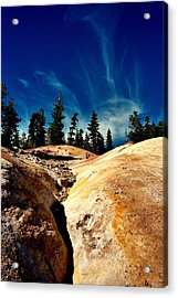 Acrylic Print featuring the photograph Lassen Volcanic National Park by Peter Mooyman