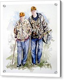 Last Hunt Acrylic Print by Dana  Bellis