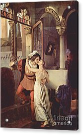 Last Kiss Of Romeo And Juliet Acrylic Print by Pg Reproductions