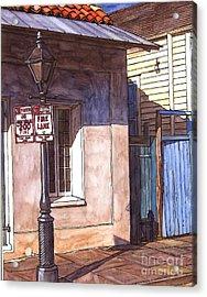 Late Evening Shadow Acrylic Print by John Boles