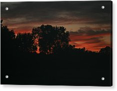 Late Evening Skies Acrylic Print