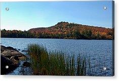 Late Fall On Lake Lila Acrylic Print