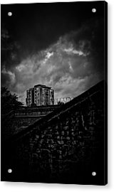 Late Night Brixton Skyline Acrylic Print by Lenny Carter