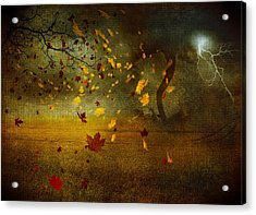 Late October Acrylic Print by Svetlana Sewell