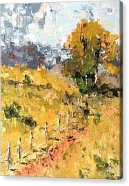 Late Summer Afternoon Acrylic Print