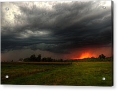 Late Summer Storm Acrylic Print