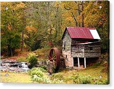 Laudermilk Mill Acrylic Print by Rick Mann