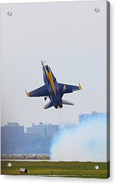 Launch Acrylic Print by Kevin Schrader