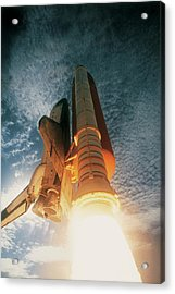 Launching Of The Space Shuttle Acrylic Print