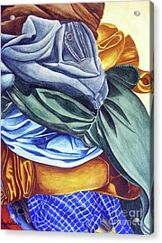 Laundry No2 Acrylic Print by Mic DBernardo