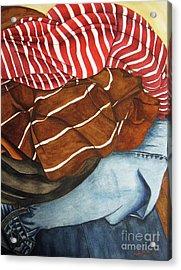 Laundry No3 Acrylic Print by Mic DBernardo