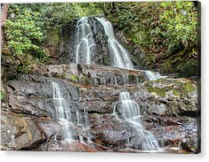 Acrylic Print featuring the photograph Laurel Falls by Peter Ciro