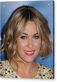 Lauren Conrad At Arrivals For Mtv Hosts Acrylic Print by Everett