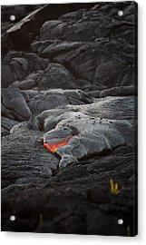 Lava Acrylic Print by Ralf Kaiser
