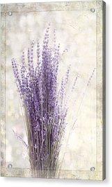 Lavender Bunch Acrylic Print