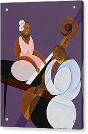 Lavender Jazz Acrylic Print