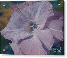 Lavender Love Spell Acrylic Print by Barbara Barber