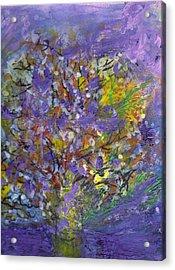 Lavender Memories Acrylic Print by Anne-Elizabeth Whiteway