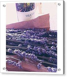 Lavender Still-life Acrylic Print