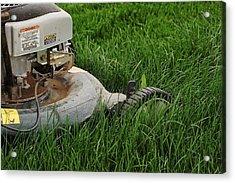 Lawn Mower Acrylic Print