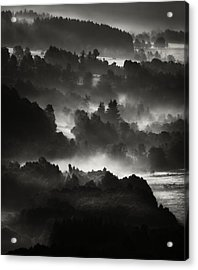 Layers Acrylic Print by Jaromir Hron