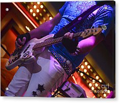 Laying It Down Acrylic Print by Bob Christopher