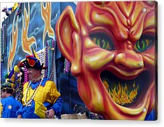 Le Flames D' Enfer Acrylic Print by Rdr Creative