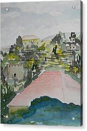 Le Liban Perdu 1  Acrylic Print by Marwan George Khoury