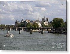 Le Pont Des Arts. Paris. France Acrylic Print