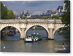 Le Pont Neuf . Paris. Acrylic Print